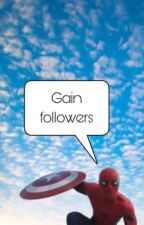Gain followers.  by undiscovered-stories