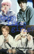 boys likes girls?  yoonmin  by fuckxyoonmin