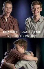 Thomas Brodie-Sangster and Will Poulter Imagines by tbdangster