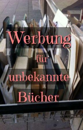 Werbung für unbekannte Bücher by angxlinaouat