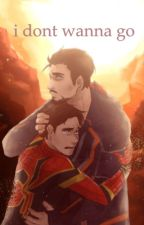 i dont wanna go / / Peter Parker & Tony Stark (father x son) by imisabellaluscombe