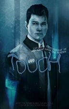 Touch [Hank x Connor] detroit become human by Mirajane_Satan_soul