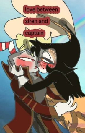 love between a siren and captain~cuphead x bendy~ - hes