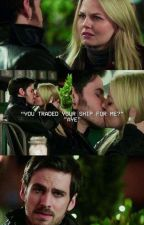 You traded your ship for me? {CaptainSwan/One-shot 3x22} by reasoncolifer