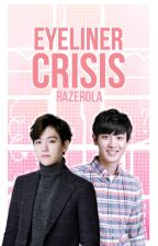 Eyeliner Crisis // ChanBaek by razerola