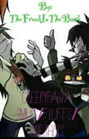 Creepypasta smuts/fluffs/oneshots - Eyeless Jack x Jeff The