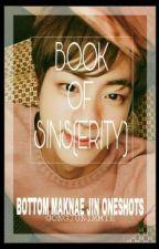 BOOK OF SINS(ERITY) (BOTTOM MAKNAE JIN ONE SHOTS) by gongjunimmie