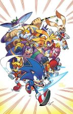 Sonic Comics AU by DawnTotadile