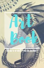 Raven's Art Book by Kittinq