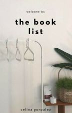 the book list by sunflawless