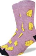 Socks x Cheese by kikipika