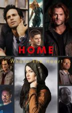 Home Is Where The Heart Is (Bruce Banner & Sam Winchester) by insaneredhead