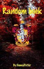 Random boek by RoselynnScamander