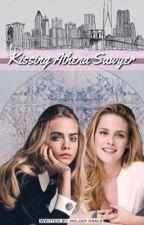 Kissing Athena Sawyer (GirlxGirl) by cuddlefxck