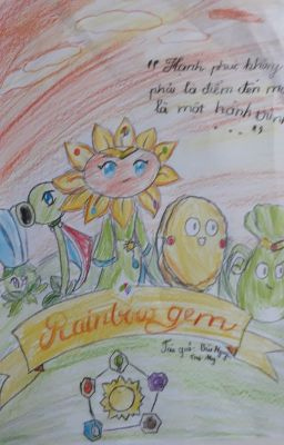 ( Plants vs zombies fanfic) (shortfic) Rainbow gem.