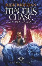 Magnus Chase y los dioses de asgard: La espada del tiempo by raquelpolo