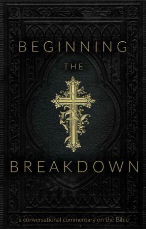 Beginning the Breakdown by avadel