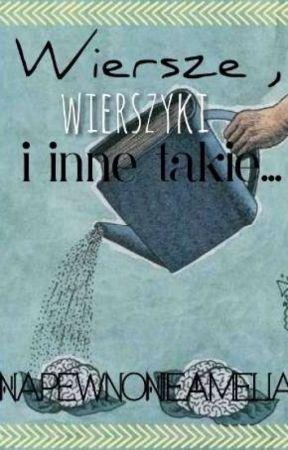 Wiersze Wierszyki I Inne Takie Czyli Pseudo Poezja