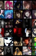 Complete Creepypasta Correspondences & Intensions  by wolfbit1232