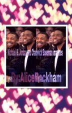 Michael B. Jordan and Chadwick Boseman imagines  by Alicejoaquin