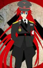 suffering demon (male abused reader X nazi rias gremory) by slave4redhaireddemon