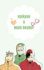 Haikyuu!! X Male reader oneshots  by Robo-Phobic