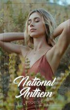 national anthem   chris evans [social media] by tragediart