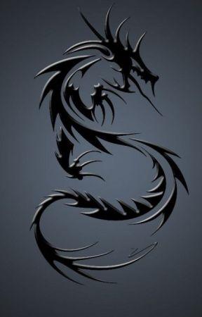 Дракон и девочка на пеньке - обои на телефон бесплатно.   450x288