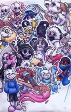 Ask/Dare the Sans AU Crew by Fire_AssassinXx