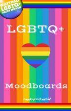 LGBTQ+ Moodboards by GeekyGlitterGirl