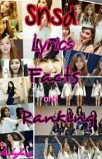Snsd Lyrics,Facts and Ranking by finkyfany