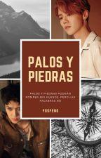 Palos y Piedras [Correr y Cortar #2] [HunHan] by fosfeno