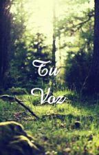 Tu voz. by AnaMeier1