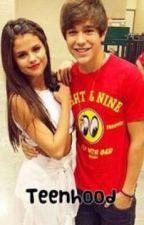 Teenhood with Austin Mahone and Selena Gomez by SarahMashelle