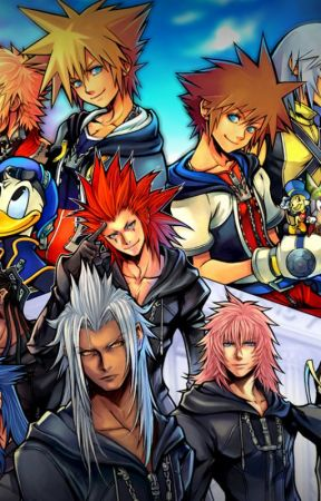 The Time Traveler (Kingdom Hearts Characters x Reader) by Vladimira121