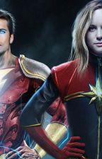 Capitã Marvel e Shazam - O renascer Infinito by Fishbollcat
