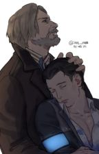 Feelings for You [Connor x Hank -DBH] by ClownTheCrazy