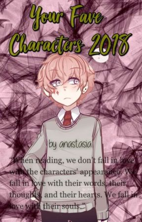 YourFaveCharacters2018 by -purples