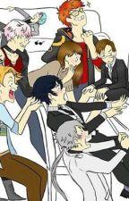 Mystic Messenger Scenarios & Comics by Satsuki908