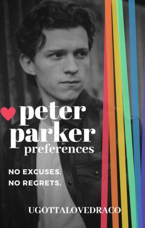Peter Parker Preferences by UGottaLoveDraco