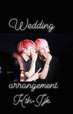 wedding arrangement : K.th+ J.jk by darkshadeofblue