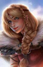 Astrid x Female reader: Werewolf Fury  by YTFoxy101
