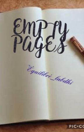 EMPTY PAGES by equilibre_labdhi