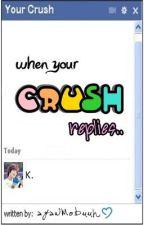 """when your CRUSH replies """"k."""" by ayawmobuuh"""