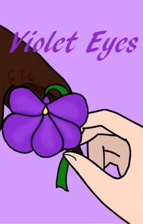 Violet Eyes by MakaAEvans