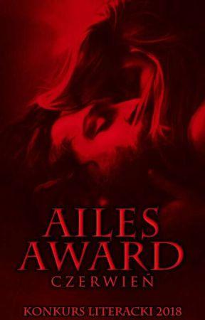 AILES AWARD CZERWIEŃ KONKURS LITERACKI 2018 by Aailes