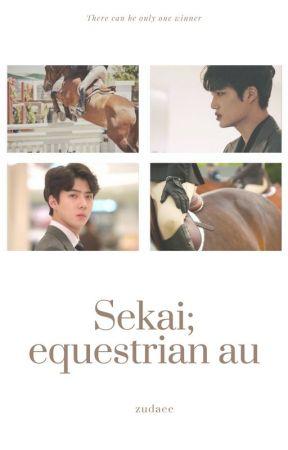 SEKAI; equestrian au by zudaee