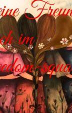Meine Freunde und ich im Freedom-squat by star_rainbowgirl