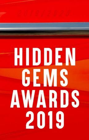 Hidden Gems Awards 2019 [FIRST CYCLE: CLOSED] by HiddenGemsAwards