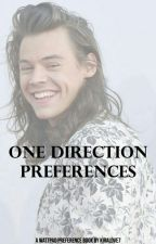 One Direction Preferences by kiralove7